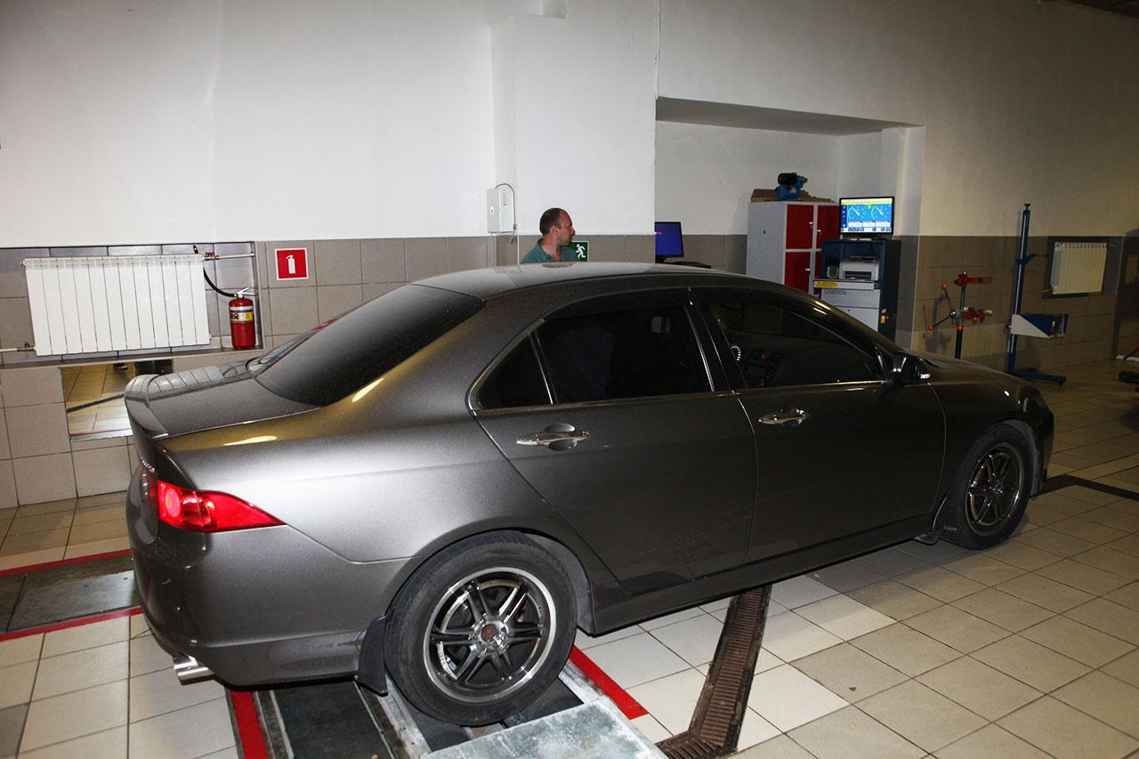 Диагностика подвески автомобиля Honda