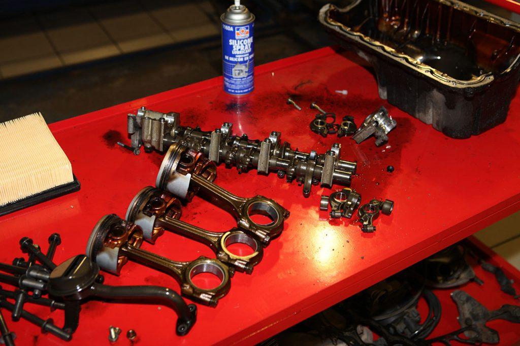 Как сделать капремонт двигателя своими руками