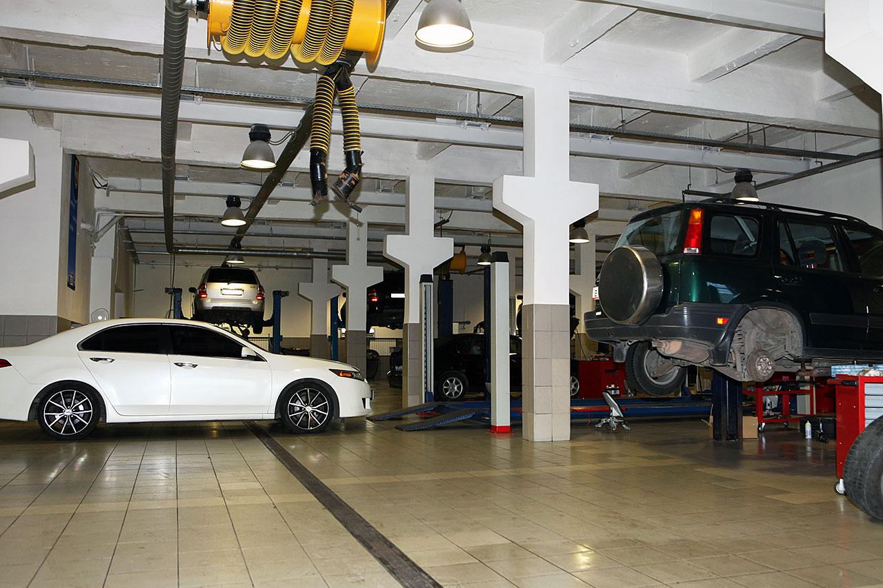 Автосервис обслуживает все модели автомобилей Хонда