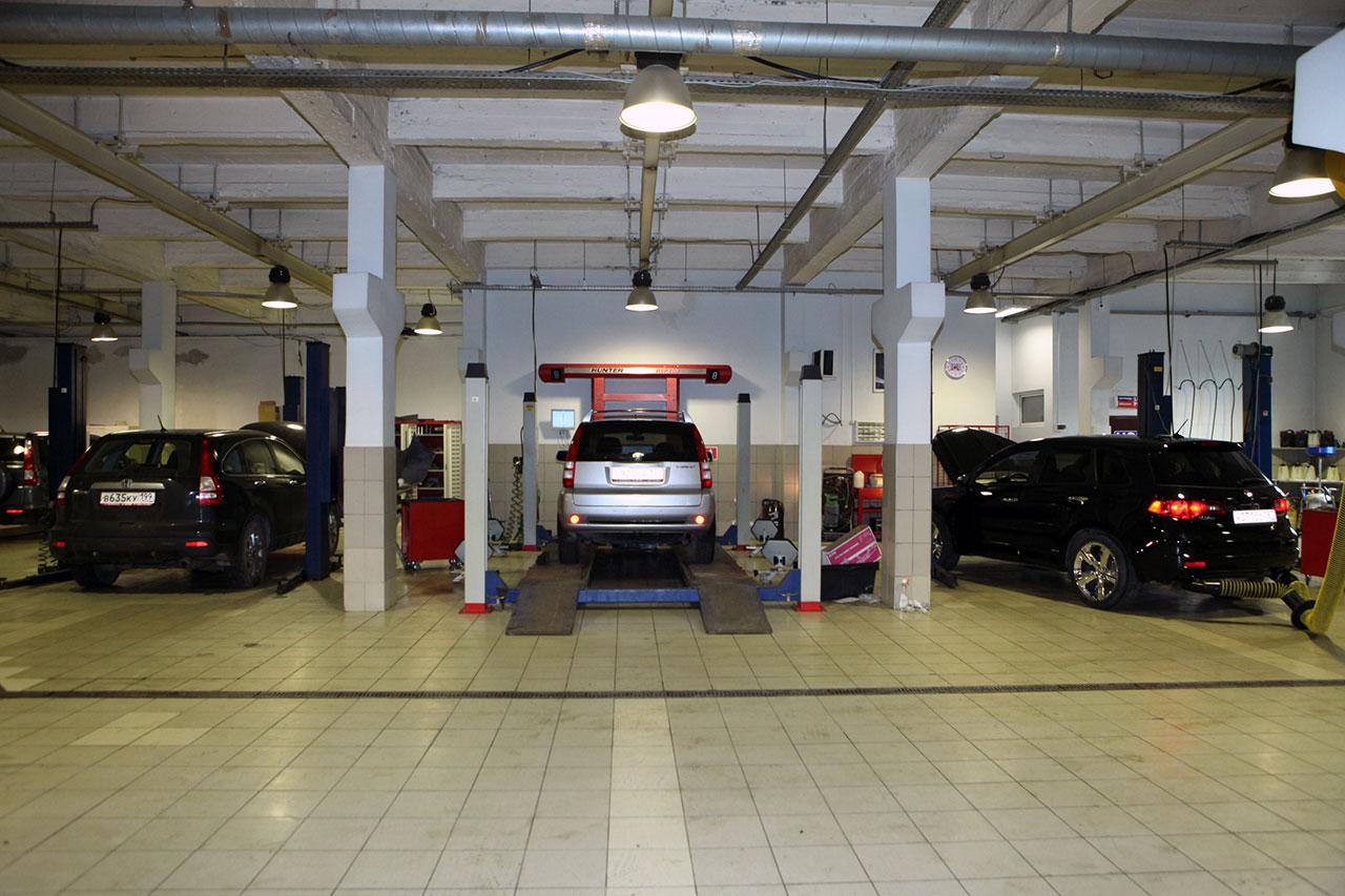 Техническое обслуживание автомобилей Хонда в Москве. ТО HONDA.